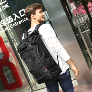 Image 2 - KAKA sac à dos étanche de grande capacité pour hommes, sac de voyage à bandoulière dordinateur, sac multifonctionnel