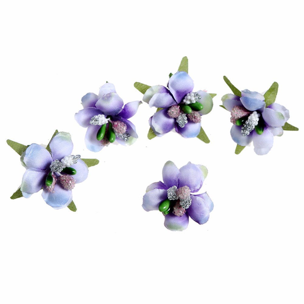 200pcs lot Simulation Buds Stamens Berry Fruit Candy Wedding Decoration Box Scrapbook DIY Wreath Kidocheese in Artificial Dried Flowers from Home Garden