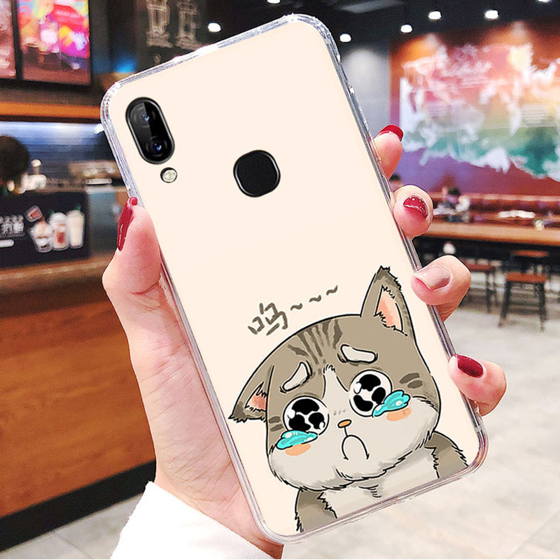 LEN1565F_1_JONSNOW Soft Case For Lenovo K5 Pro S5 Pro Painted Pudding Anti Skid Phone Cover for Lenovo A5 Capa Fundas