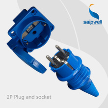 Saipwell Hot Sale IP44 Industrial Socket And Plug 16 amps Industrial Socket High Quality high quality and hot sale100