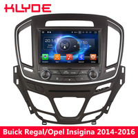 KLYDE Android 8.0 Octa Core 4GB RAM 32GB ROM Car DVD Player Radio For Buick Regal Vauxhall Insignia/Opel Insignia 2014 2015 2016