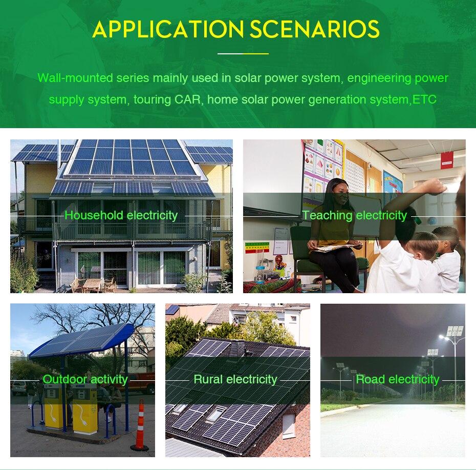 Easun Power Solar Inverter 80a 5000w Mppt Off Grid 48v 220v Garden Light Circuit Further 5000 Watt Schematic Hybrid Pure Sine