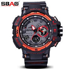 Sbao Watches Men Military Army Mens Watch Reloj Electronic Led Sport Wristwatch Digital Male Clock Sport s8008 Watch Men цена 2017