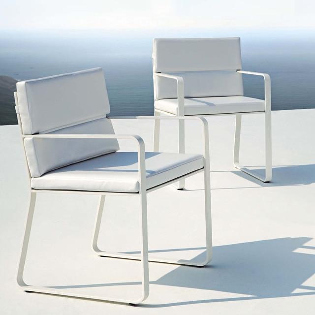 高級屋外ダイニング椅子ガーデン椅子ガーデン家具すべて アルミ家具アルミ チェア の国際ブランド