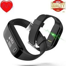 H3 сердечного ритма monitore Смарт браслет здоровья наручные часы сигнализации вызова вибрационный для xiomi Android и IOS Телефон