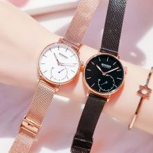 2019 New Fashion Women Watches Woman Luxury Brand Dress Steel Quartz L