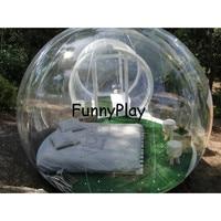 Прозрачная надувная пузырчатая палатка с туннелем для продажи производитель Китай, надувные палатки для выставок, надувная садовая палатк
