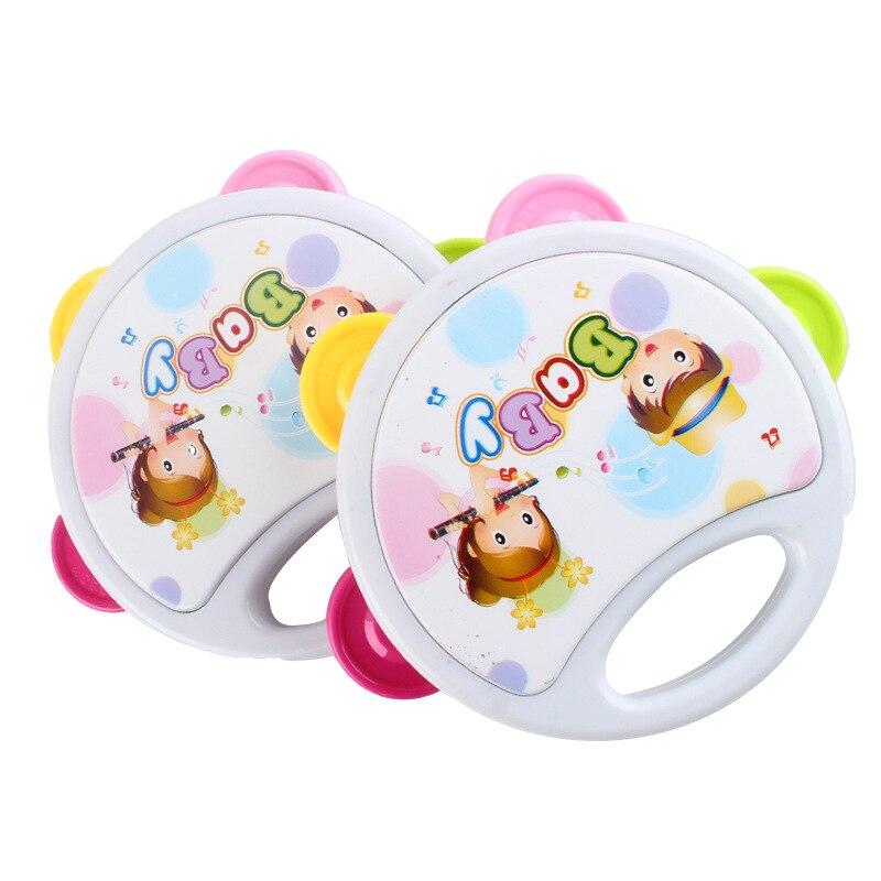 Ausdrucksvoll 1 Pc Cartoon Baby 0-12 Monate Intelligenz Spielzeug Rassel Bett Glocke Silikon Trommel Geburtstag Geschenk Glocke Trommel Rassel Spielzeug Geschenk