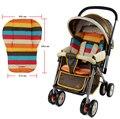 Assento Carrinho de bebê Almofada Almofada Do Assento de Carro Tapete de Algodão À Prova D' Água Íris Pram Para 0-36 meses