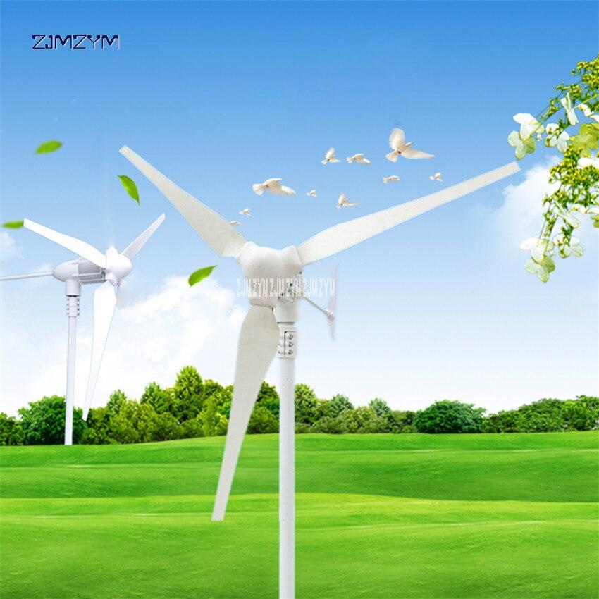 Éolienne lame 3 aérogénérateur 24 v éolienne générateur 740r/m petit générateur d'énergie éolienne 12 v vent Turbina générateur Z-500W