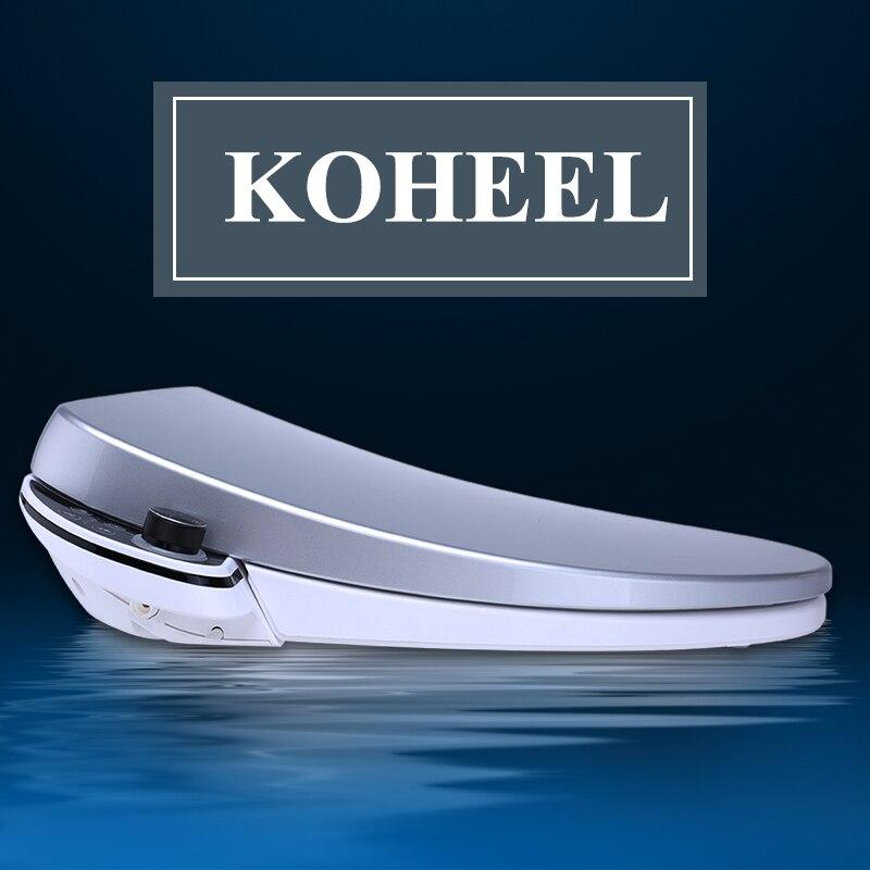 все цены на Bidet Toilet Seats Heating Sits Led Light Wc Smart Simple Knob Intelligent Toilet Seat Washlet Elongated Electric Bidet Cover