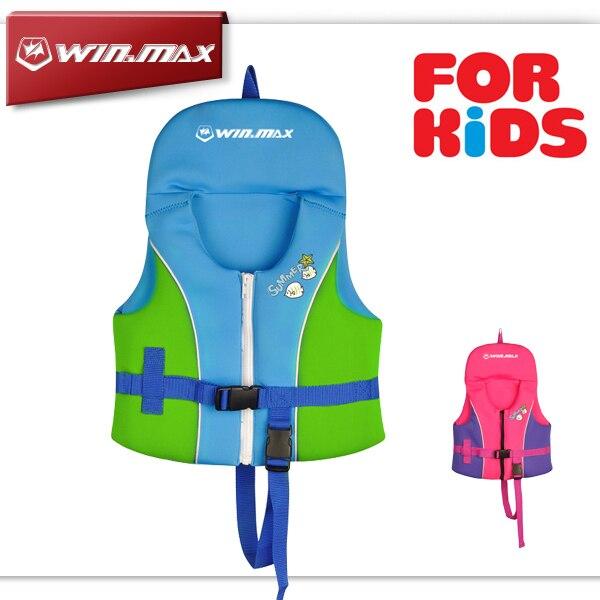 2017 Новый WINMAX Летний Плавательный спасательный жилет детская надувная плавание жилет/купальный костюм/Плавание Куртка для Малыша