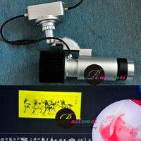 Бесплатная доставка 30 Вт LED маленький гобо свет проектора проецируемого изображения изображение логотипа на Экран стены, потолок пол INLIGHT ...