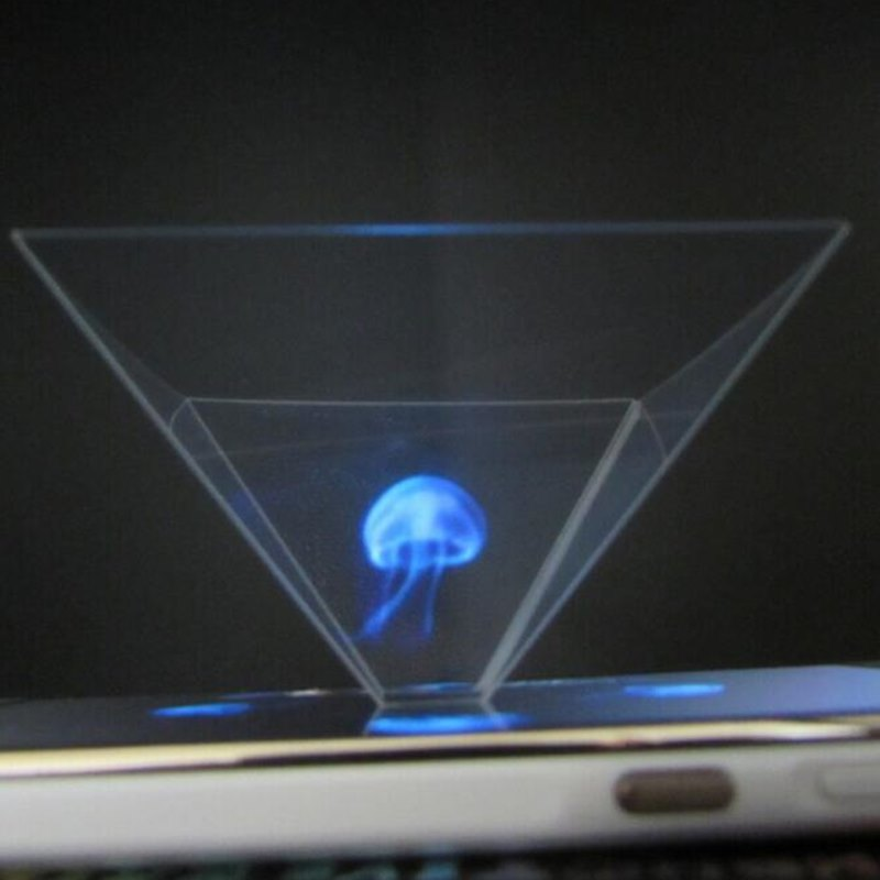 Desktop 3d Hologram Projection