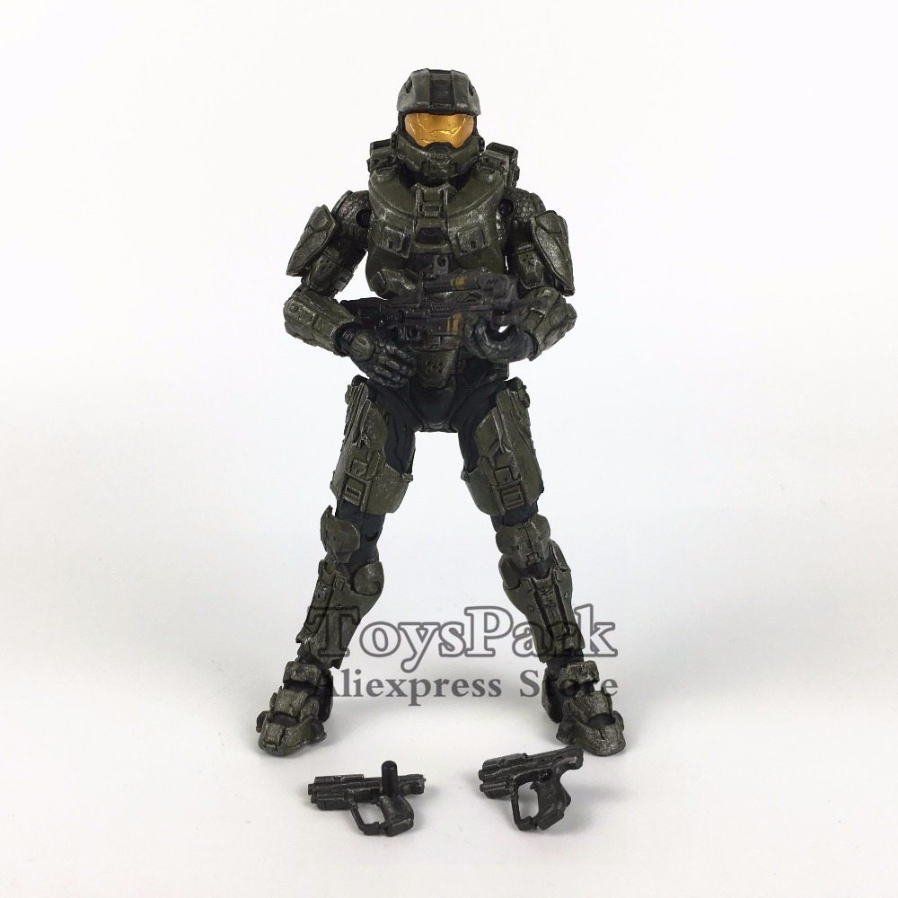 ToysPark Halo Master Chief 5 Action Figure Mcfarlane Halo Series Collectible Loose No Retail Box