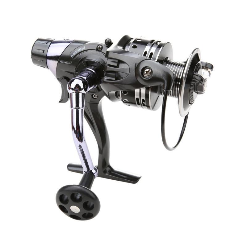 Aluminium Legierung Angeln Reel 11 + 1BB Dual Bremse System Köder Casting Angeln Reel für Karpfen Meer Angeln 3000/ 4000/5000/6000 serie