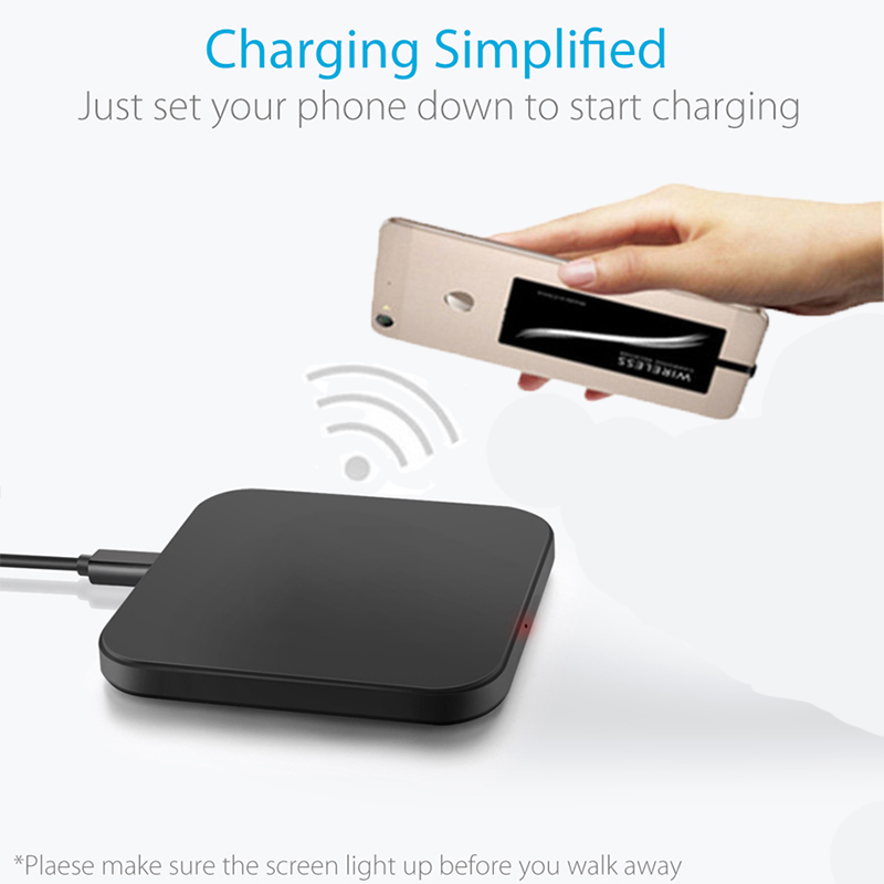 Qi Wireless Charger Pad for Xiaomi Mi 8 Lite 8 Pro Case Mobile Accessor