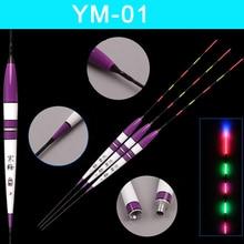3pcs/lot Glowing Fishing Floats Night Light Luminous Flotteur Peche Carp Bobber Accessories Tools Without Battery