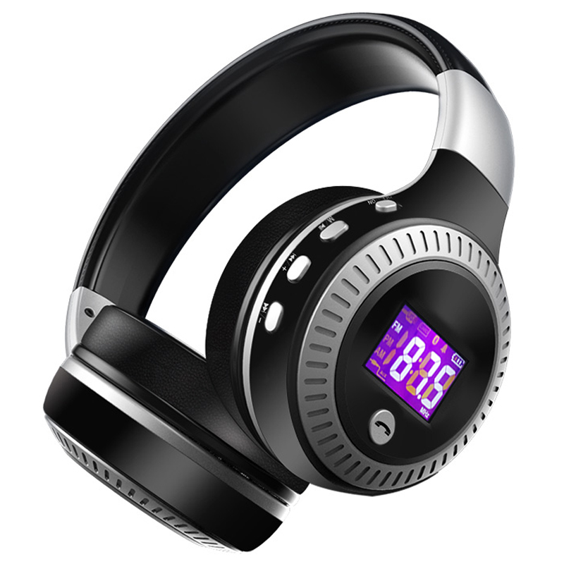 ZEALOT B19 Bass Stereo Wireless Headphone Bluetooth Headset Over Ear FM Radio Micro SD Card MP3 Play With Microphone bluetooth headphone with microphone wireless headphones support tf card fm radio stereo bass gaming headset for pc ios android