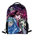2016 new cartoon Monster High backpack children schoolbag school student book bag boys kids girls bags school bags for grade 1-3