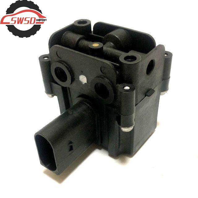 New Air Suspension Compressor Valve Block for BMW X5 X6 E70/E71/E39/E61 OEM 37206859714 37226775479 Automatic Control Valve warm water valve for bmw e70 x5 e53 e71 x6 oem 64116910544 1147412166 heater control valve