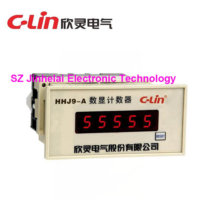 Купить C-Lin HHJ9-A New and original Count relay AC220V Reversibility accumulative total counter в Москве и СПБ с доставкой недорого