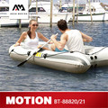 АКВА МАРИНА движение новый спортивный байдарка надувная лодка для рыбалки надувные лодки 2 человек с веслом ТОЛСТАЯ ПВХ лодка с веслом