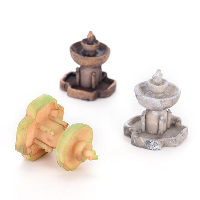 Fée jardin Micro aménagement paysager décor fontaine artificielle Miniature décorations maisons Mini artisanat décoration de la maison bricolage accessoires