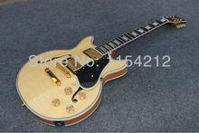 musical instrument es339 cutomized ebony fretboard hollow body electric font b guitar b font