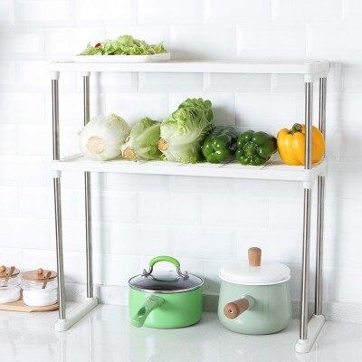 Étagère de rangement pour four à double pont | Support de stockage multifonctionnel pour ménage étagère pour articles divers de cuisine 54.7*22.4*56.3cm