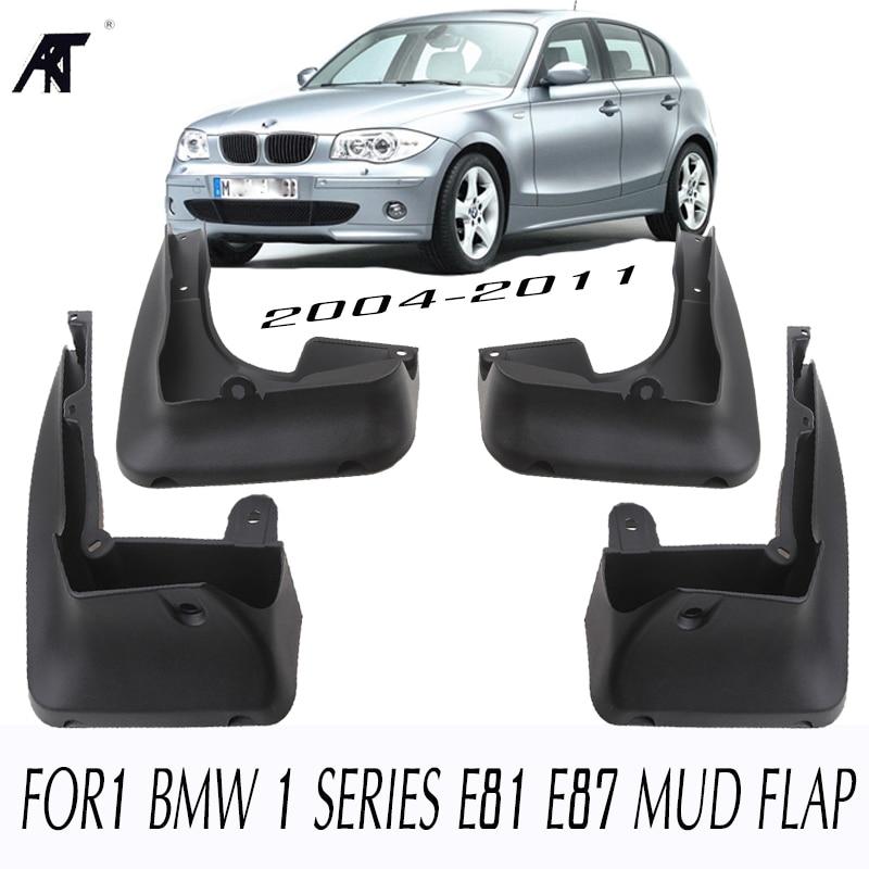 FRONT REAR MUDFLAPS FIT FOR 2004-2011 BMW 1 SERIES E81 E87 MUD FLAP SPLASH GUARDS 2007 -2010 FENDER ACCESSORIES 2006
