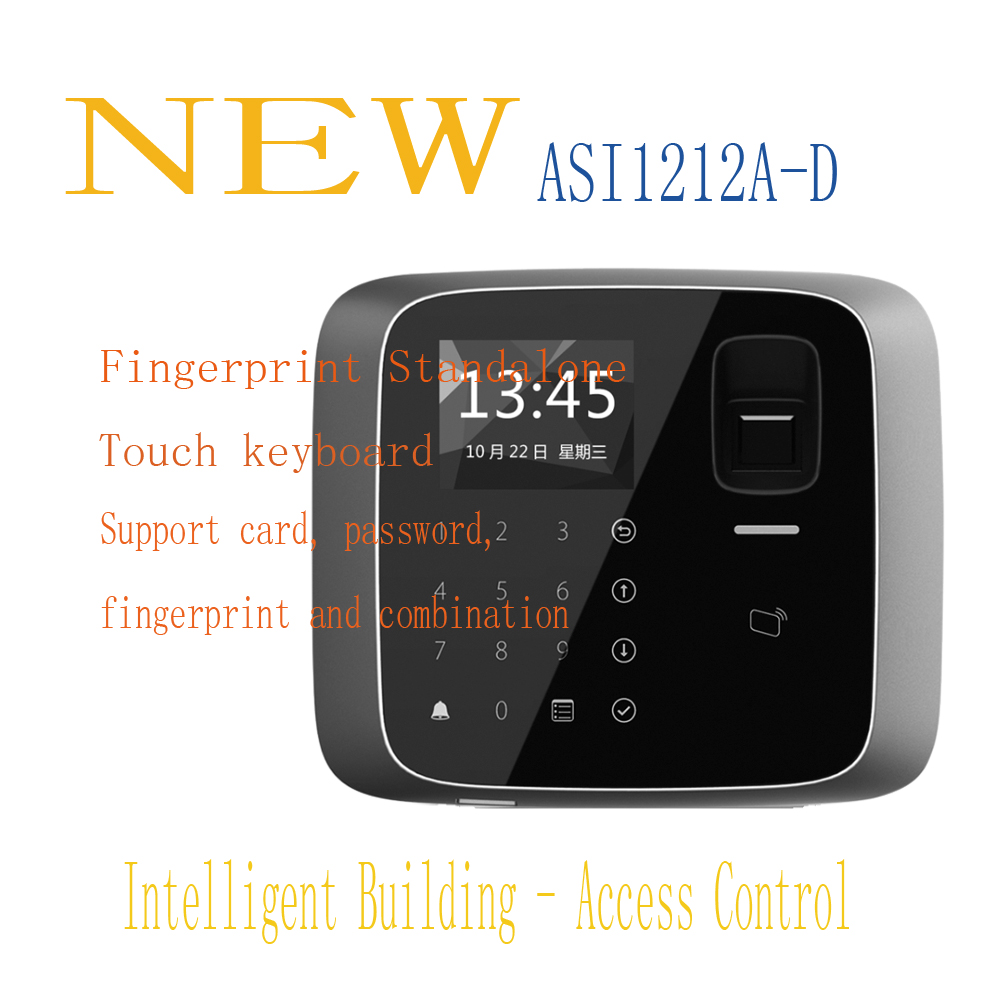 все цены на Free Shipping DAHUA Access Control Fingerprint Standalone Support 30000 valid cards 150,000 records IP55 Without Logo ASI1212A-D