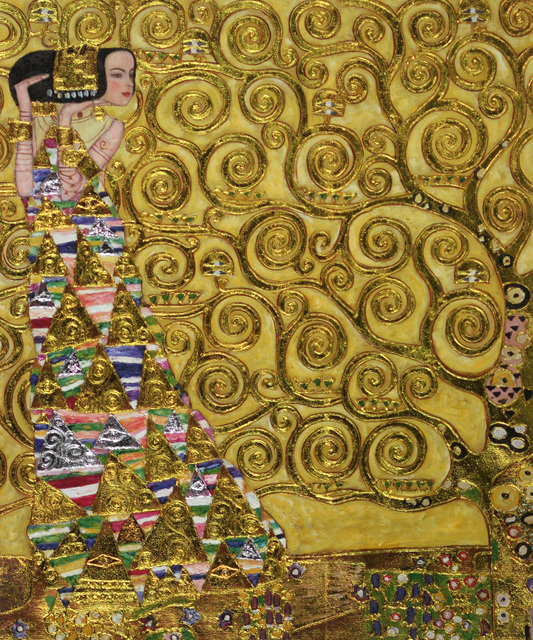 Fatti a mano Dipinti Astratti su Tela di Gustav Klimt Riproduzioni ...