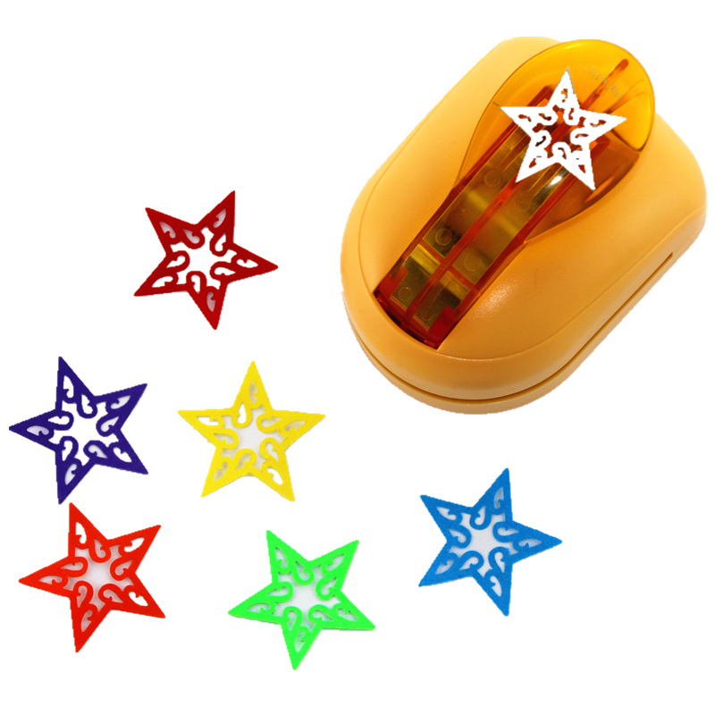 Quality Super Large Size Shaper Punch Craft Scrapbooking star Paper Puncher DIY tools 1pc No-3 super star 3