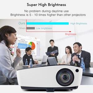 Image 4 - BYINTEK K5 Ngắn Ném 4000ANSI Full HD 1080P Video DLP 3D Trên Đầu Máy Chiếu Beamer Cho Ánh Sáng Ban Ngày Lớp Học Giáo Dục văn Phòng