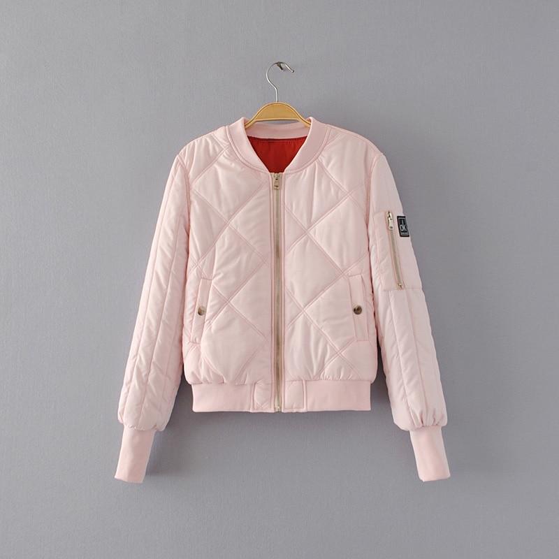 2017 autumn winter women jacket casual splice women basic coats long sleeve womens clothing patch coat women