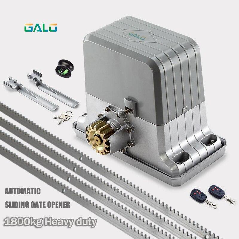 1800KGS Automatic Sliding Gate Operator Of AC220V/110V Motor As Door Closer Gate Motor Engine(sensor,button,lamp, Optional)