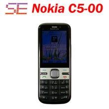 C5-00i Original Phone Unlocked Nokia C5 C5-00 Cell phones GSM 3G 5Mp Camera FM GPS Bluetooth