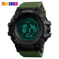 SKMEI Outdoor Sports Watches Men Compass Temperature Altimeter Digital Wristwatches Waterproof Clock Male relogio masculino 1358