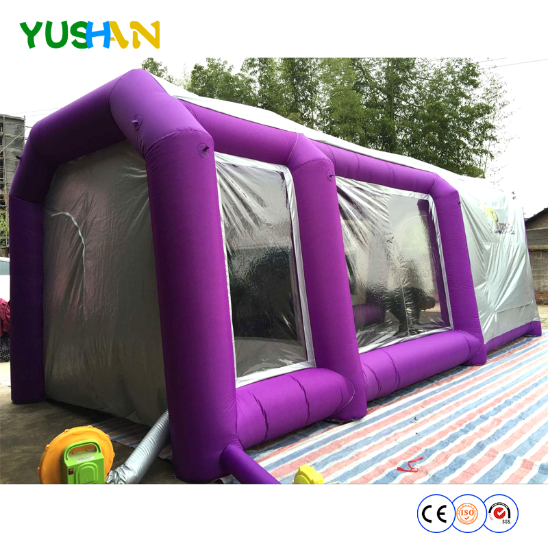 free shipment!giant inflatable paint tent/inflatable spray tent for car/used inflatable tents for sale