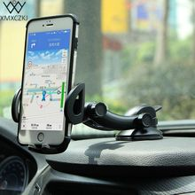 XMXCZKJ New Arrivals Car Mobile phone Holder Universal Dashboard Windshield Desk Suction Cup Mount Stand For iPhone Samsung