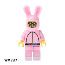 1PCS model building blocks action superheroes Dr. Hare Cute Rabbit classic kit diy toys for children gift(China)