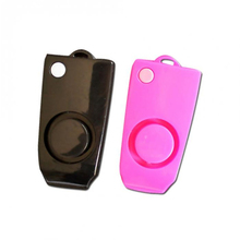 Free Shipping Self Defense Alarm 120DB Loud Keychain Alarm Personal Protection Safety Anti-Rape Alarm Emergency Self defence
