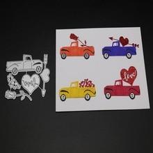 Glita Creatif car metal cutting dies for DIY scrapbooking albulm photo decorative paper craft valentine days decoration die