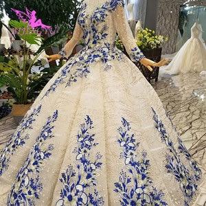 Image 4 - AIJINGYU Gorgeous Wedding Dresses Plus Size Gowns Newest Ball 2021 2020 Elegant Buy Bridal Dress Wedding Gown Material