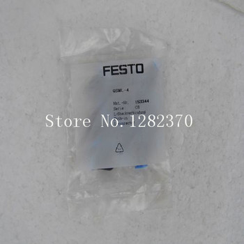 [SA]   FESTO gas fitting QSML-4 153 344 spot --20pcs/lot