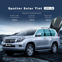20% Exterior Window Tints Solar Protection Film Sputter series 1.52x30m/Roll