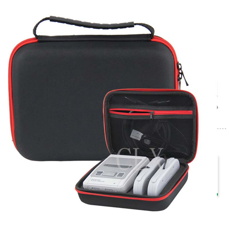 Hard Travel Carry Case For Retroflag SUPERPi / NESPi +2 Controller, Storage Bag For Nintendo Super NES SNES Classic Mini Console