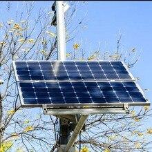 2 Pcs Lot Solar Panel 100w Monocrystalline 12v Solar Battery Charger Solar Home Lighting System Autocaravanas
