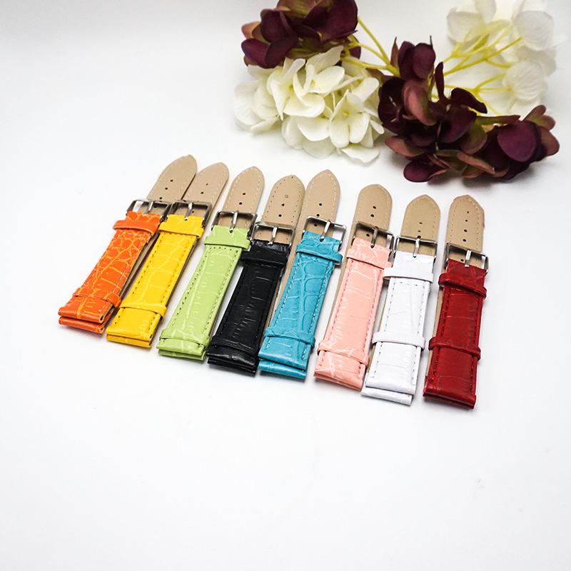 PU Watchband 24mm watch band 20mm for clock accessories 2017 multicolor watches straps 12/14/24mm bracelets watchbands 18MM X008 gold watchband for luxury watches brand stylish watches accessories 18mm 20mm 22mm fashion thiner bracelets promotion price new